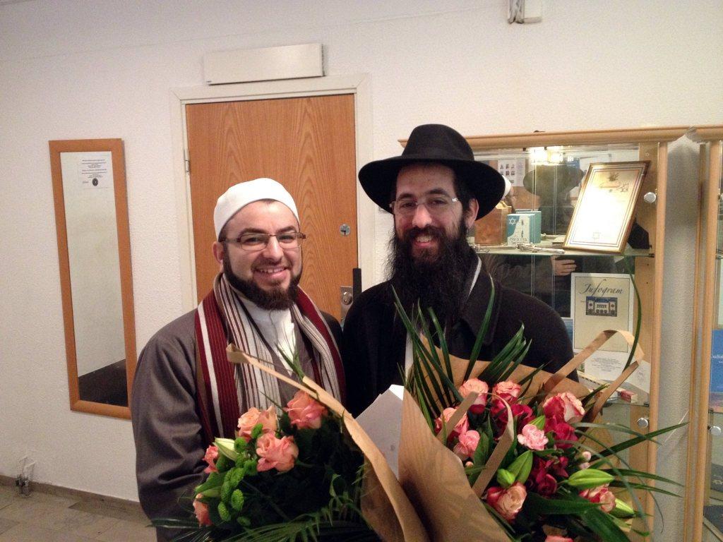 Imam Salahuddin och rabbin Shneur Kesselman